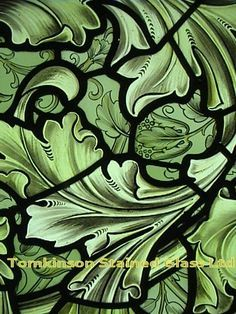 william morris stained glass - Google Search