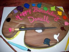 Paint Pallet Cake by tineypics, via Flickr