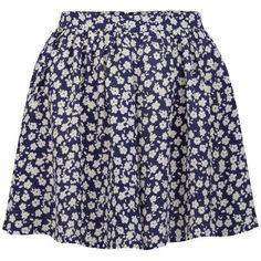 Neon Rose Women's Floral Print Skirt ($12) ❤ liked on Polyvore featuring skirts, bottoms, saias, faldas, blue, skater skirts, circle skirt, patterned skater skirt, rose print skirt and floral circle skirt