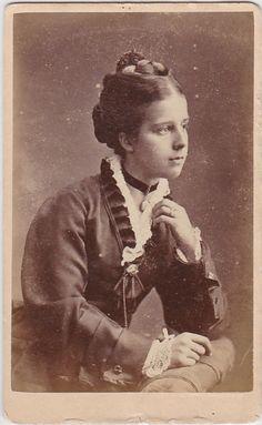 Victorian carte de visite 1880s