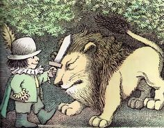Hector Protector and As I Went Over the Water: Two Nursery Rhymes with Pictures - written & illustrated by Maurice Sendak (1965)
