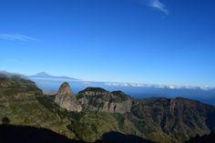 La Gomera Canary Islands Spain. [CO] [4800 x 1080]