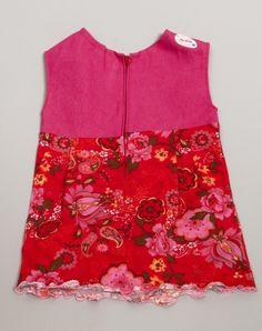 achterkant, fijne rits zodat de jurk makkelijk aan en uit gaat.