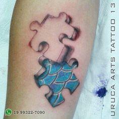 Uruca Arts Tattoo 13  Adorei fazer esse trabalho.  Endereço: Av. Dr. Ângelo Nogueira Vila, 890 Águas de São Pedro - SP WhatsApp: (19) 99322-7090  #quebracabeça #quebracabeçatatuagem #tatuagemquebracabeça #tatuagemreal #realismotattoo #tattoo #aguasdesaopedro #meustrabalhos #tattoo13 #tatuagem #realismotatuagem #tatuagemrealismo #urucaarts #vempraaguas #obrigado #tatuagemcolorida #tattoocolor #tattoo2me #vempraaguas #vempraáguas #aguasdesaopedro #urucaarts #obrigado #piracicaba #saopedro…
