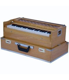 SG Musical Folding Safri, Natural Color, A440, 42 Keys, Coupler