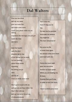#dal #walters #dalwalters #poems #romanticpoem #poetry #creativewriting