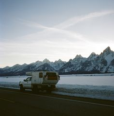 In the Tetons.