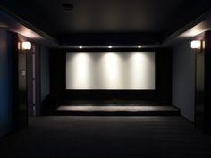 Lights above screen