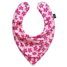 Babador Bandana Gumii Floral Pink