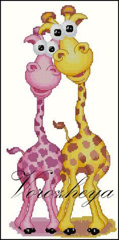 Gallery.ru / Жирафы - Платные, сделанные по заказам. 2 - Vorozheya