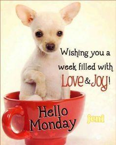 Hello Monday!!