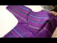 Bombay katori stitching | Geeta ladies tailor - YouTube Chudidhar Neck Designs, Saree Blouse Neck Designs, Fancy Blouse Designs, Girls Dresses Sewing, Dress Sewing Patterns, Pattern Sewing, Sewing Kit, Blouse Patterns, Sewing Hacks