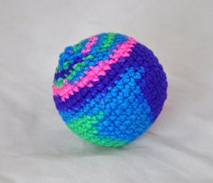 Bright Mix Color  Small Dog Toy  Homemade Dog by jenniespetcorner