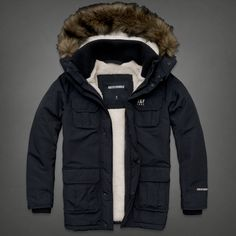Mens A&f All Season Weather Warrior Parka | Mens Outerwear | Abercrombie.co.uk
