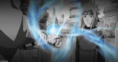 Jiraiya shows Minato that Rasengan ! Anime Naruto, Naruto Shippuden, Kakashi Naruto, Manga Anime, Shikamaru, Gaara, Boruto, I Love Anime, All Anime