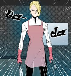 Lazark in an apron is the most precious thing. RIP Lazark hope you're proud of your younger brother, Rael.