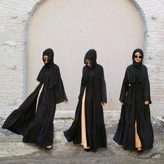Saufeeya @feeeeya Instagram photos | Websta Islamic Fashion, Muslim Fashion, Modest Fashion, Muslim Girls, Muslim Women, Islamic Women's Clothing, Abaya Fashion, Fashion Muslimah, Simple Hijab
