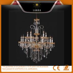 Professional Customize Modern Crystal Glass Chandelier
