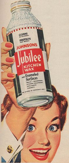 Jubilee Wax 1953. I remember my mom using this!