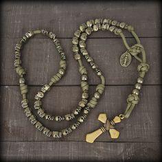 z- Custom Skull Rosary for Josh