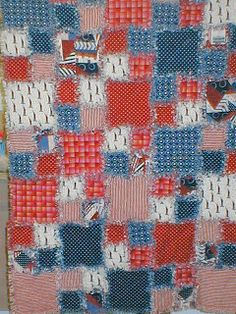"""How to Make a Rag Quilt """"This sounds so easy, I definitely am going to have to try and make one""""...gp"""