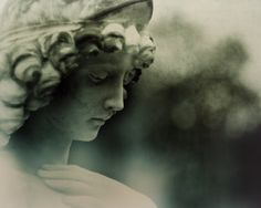 Angel Statue Photography   Victorian Cemetery by DonnyTidmore, $25.00