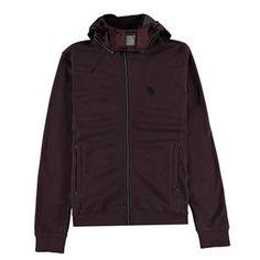 Sutton Hooded Jacket Description: • Luke 1977 branding  • 2 front pockets  • Contrast hood; velcro strap  • Zip through fasten  • Elasticated trims  • 100% Cotton  • Machine wash Jet Plum Medium Price: GBP: 50 Buy Now   http://qualityclothing.me.uk/sutton-hooded-jacket-23/