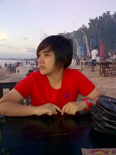 At Jimbaran beach - Bali