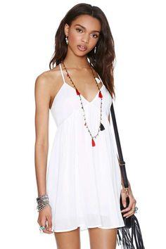 Summer Fling Dress - White