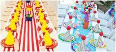 Ideas for decorating circus birthday snacks Birthday Snacks, Circus Birthday, Maya, Carnival, Decorating, Ideas, Circus Party, Clowns, Afternoon Snacks