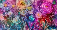 Drops, Drips, Dots and Doodling with Alcohol Inks           Sometimes it is just fun to play with a medium, I created this painting by choo...