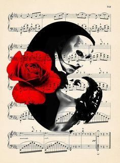 Phantom of the Opera- the Phantom and Christine. This musical is breathtaking! Comedia Musical, It's Over Now, Opera Ghost, Gaston Leroux, Music Of The Night, The Rocky Horror Picture Show, Love Never Dies, Sing To Me, Fan Art
