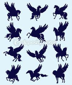 Pegasus by Sergiy Kozlov - Stock Vector