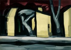Oscar Bluemner, A Situation in Yellow, 1933. Oil on canvas, 36 × 50 1/2 in. (91.4 × 128.3 cm). Whitney Museum of American Art, New York; gift of Nancy and Harry L. Koenigsberg