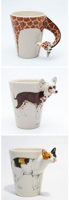 Coffeedoglover Handmade ceramic cup