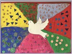Η ζωή στο Νηπιαγωγείο! Peace Crafts, Remembrance Day Activities, Peace Pole, Saint A, Black History Month, Art For Kids, Arts And Crafts, Bible, Classroom