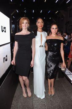 Sarah Rafferty, Gina Torres, and Meghan Markle #suits