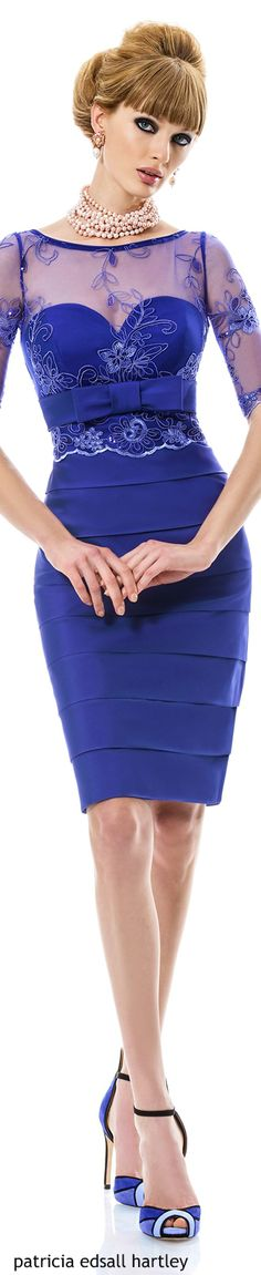 AZUL.....❤ women fashion outfit clothing style apparel @roressclothes closet ideas