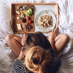 breakfast in bed is my happy place Tumblr Cafe, Brunch, Breakfast In Bed, Snacks, Recipe Of The Day, Love Food, Delish, Food Photography, Clean Eating