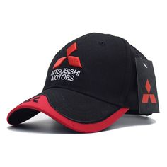6b4aab7d64780 2017 New 3D Mitsubishi Hat Cap Car logo MOTO GP Racing Baseball Cap Hat  Adjustable Casual Trucket Hat-in Baseball Caps from Men s Clothing    Accessories on ...
