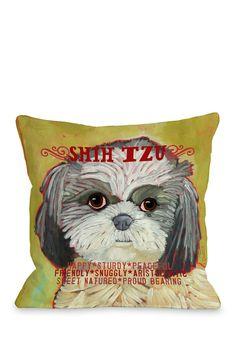Shih Tzu 2 Pillow