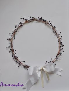 Romantic wedding wreaths  wedding crown  orthodox by AMMOUDIA, $110.00