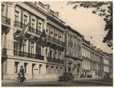 Het zogenaamde Willem de Zwijgerhuis, hoofdkwartier van de NSB aan de Zeestraat.