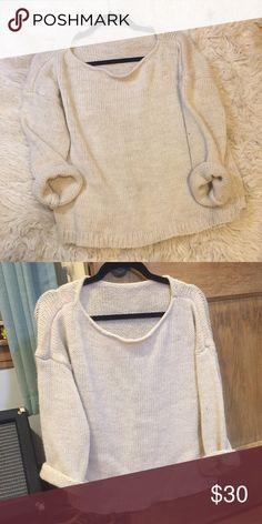 Brandy Melville wool sweater Pure wool brandy Melville sweater Brandy Melville Sweaters Crew & Scoop Necks