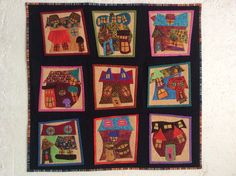 Quilt In Clarens Quilting Projects, Quilts, Blanket, Houses, Painting, Inspiration, Pretty, Art, Biblical Inspiration