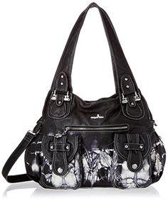 fe8824baee Mufly Womens Bucket Tote Shoulder Bag Leather Vintage Designer Handbags Hobo  bag Diagonal Package Purses With 2-Strips