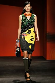 PRADA - LE DÉFILÉ PRINTEMPS-ÉTÉ 2014 – FASHION WEEK OF MILAN http://fashionblogofmedoki.blogspot.be/
