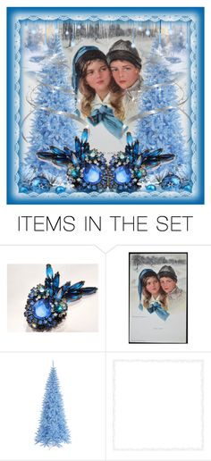 """""""The Flirt"""" by pattysporcelainetc ❤ liked on Polyvore featuring art and vintage"""