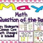 Math Question of the Day- Kindergarten Common Core for May :)  $