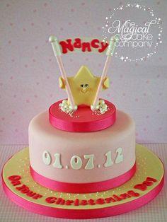 Twinkle Twinkle Little Star christening cake